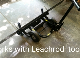 Edge Rack works with LEACHROD Blade Lift Tool
